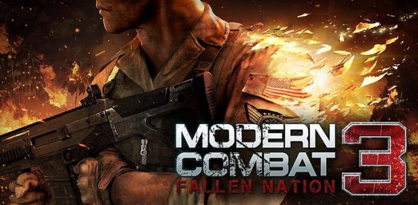 Modern Combat 3: Fallen Nation Android apk + data (MEGA)