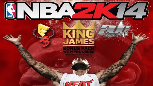 NBA 2K14 Android apk + data (MEGA)