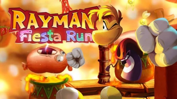 Rayman Fiesta Run Android apk + data (MEGA)