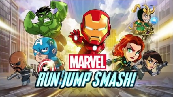 Marvel Run Jump Smash Android apk (MEGA)