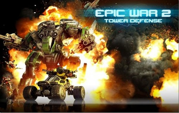 Epic War TD 2 Android apk + data