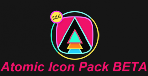 Atomic Icon Pack BETA Android apk v0.1 (MEGA)