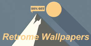 Retrome Wallpapers Android apk v1.3 (MEGA)