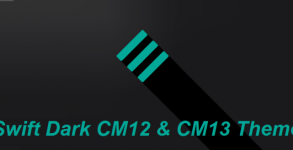 Swift Dark CM12 & CM13 Theme Android apk v2.3.3 (MEGA)
