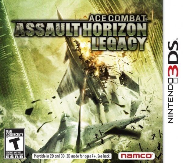 Ace Combat Assault Horizon Legacy 3ds cia Region Free (MEGA)