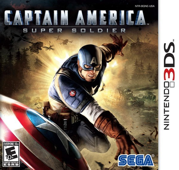 Captain America Super Soldier 3ds cia Region Free (MEGA)