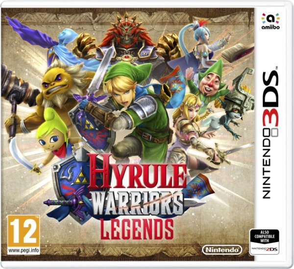 Hyrule Warriors Legends 3ds cia Region Free (MEGA)