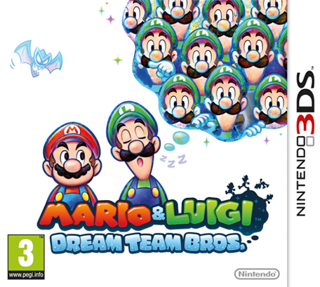 Mario & Luigi Dream Team Bros 3ds cia Region Free (MEGA)
