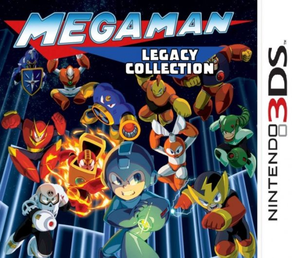 Mega Man Legacy Collection 3ds cia Region Free (MEGA)