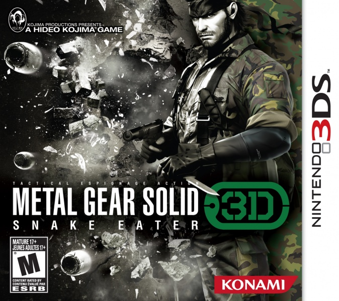 Metal Gear Solid 3 Snake eater 3ds cia Region Free (MEGA)