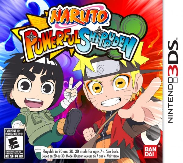 Naruto SD Powerful Shippūden 3ds cia Region Free (MEGA)