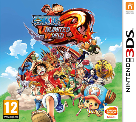One Piece Unlimited World Red 3ds cia Region Free (MEGA)