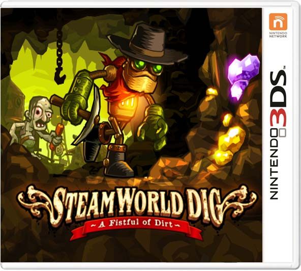 Steamworld Dig 3ds cia Region Free (MEGA)