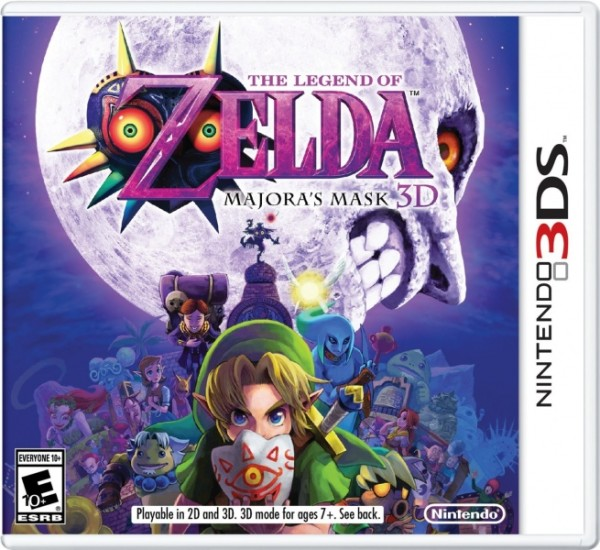 The Legend of Zelda Majora's Mask 3ds cia Region Free (MEGA)