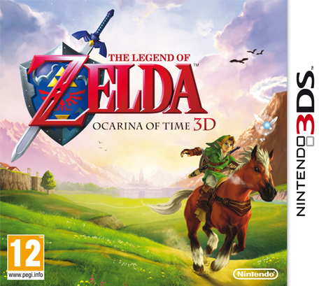 The Legend of Zelda Ocarina of Time 3ds cia Region Free (MEGA)