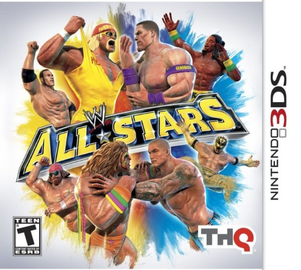 WWE All Stars 3ds cia Region Free (MEGA)