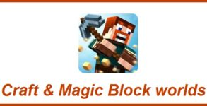 Craft & Magic Block worlds Android apk v1.112.1294 (MEGA)