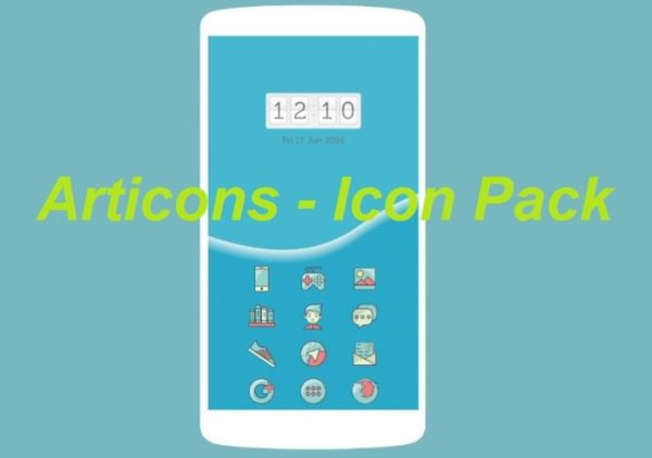 Articons – Icon Pack Android apk v1.0 (MEGA)