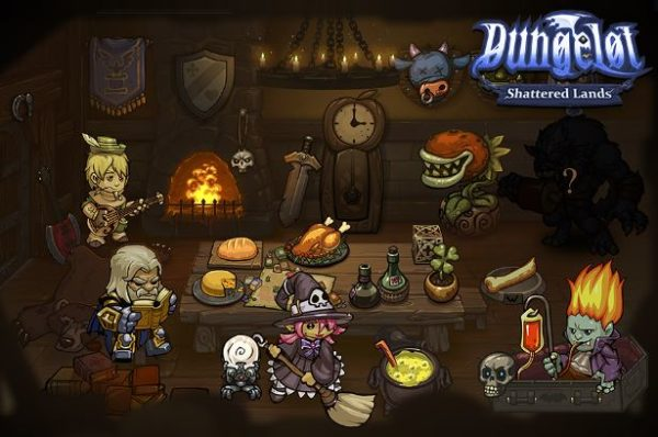 Dungelot Shattered Lands Android apk + data v1.371 (MEGA)