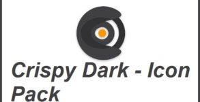 Crispy Dark - Icon Pack Android apk v1.0.0 (MEGA)