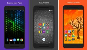 Drawon - Icon Pack Android apk v1.4 (MEGA)