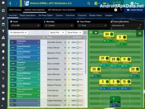 Football Manager Touch 2017 Android apk + data v17.1.0 (MEGA)
