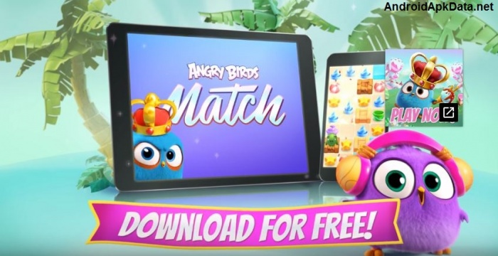 Angry Birds Match apk v1.0.17 Android Mod (MEGA)