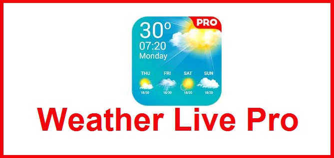 Weather Live Pro apk v1.3 Android Full (MEGA)