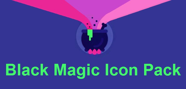 Black Magic Icon Pack apk v1.1 Android Full (MEGA)