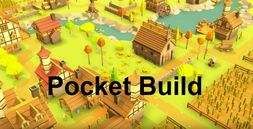 Pocket Build apk v1.9.01 Android Full (MEGA)